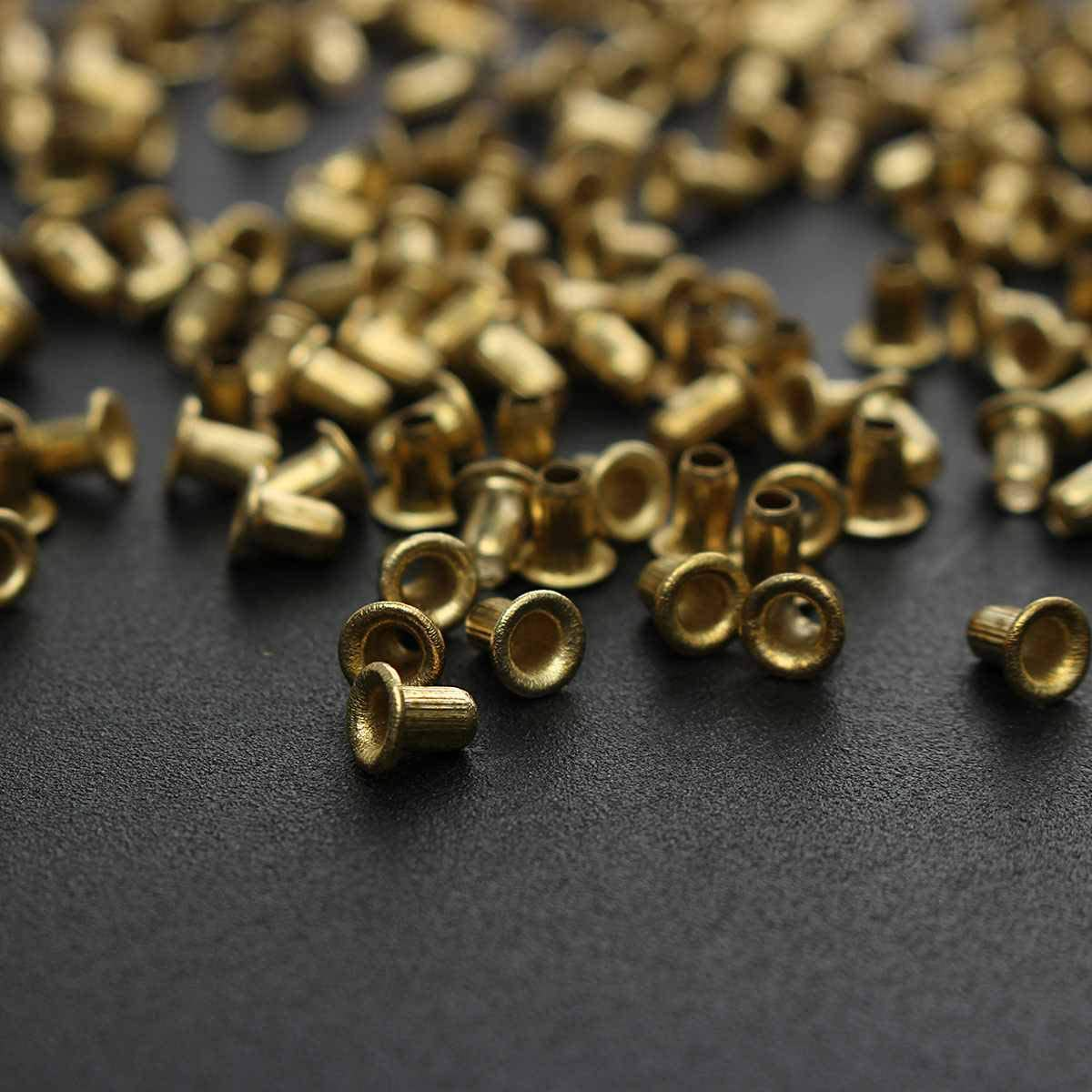 1400Pcs Brass Hole Eyelets Beehive Box Wiring Support Beekeeper Nest Threa Y7B9