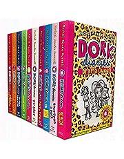 Dork Diaries x 10 title Slipcase set: Dork Diaries / Party Time / How to Dork your Diary / Pop Star / Dear Dork / TV Star / Skating Sensation / Holiday Heartbreak / OMG / Once Upon a Dork