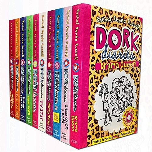 Dork Diaries Collection 10 Books Set (Dork Diaries, OMG, TV Star, Pop Star, Dear Dork, Once Upon a Dork, 3 1/2: How To Dork Your Diary, Holiday Heartbreak, Skating Sensation)