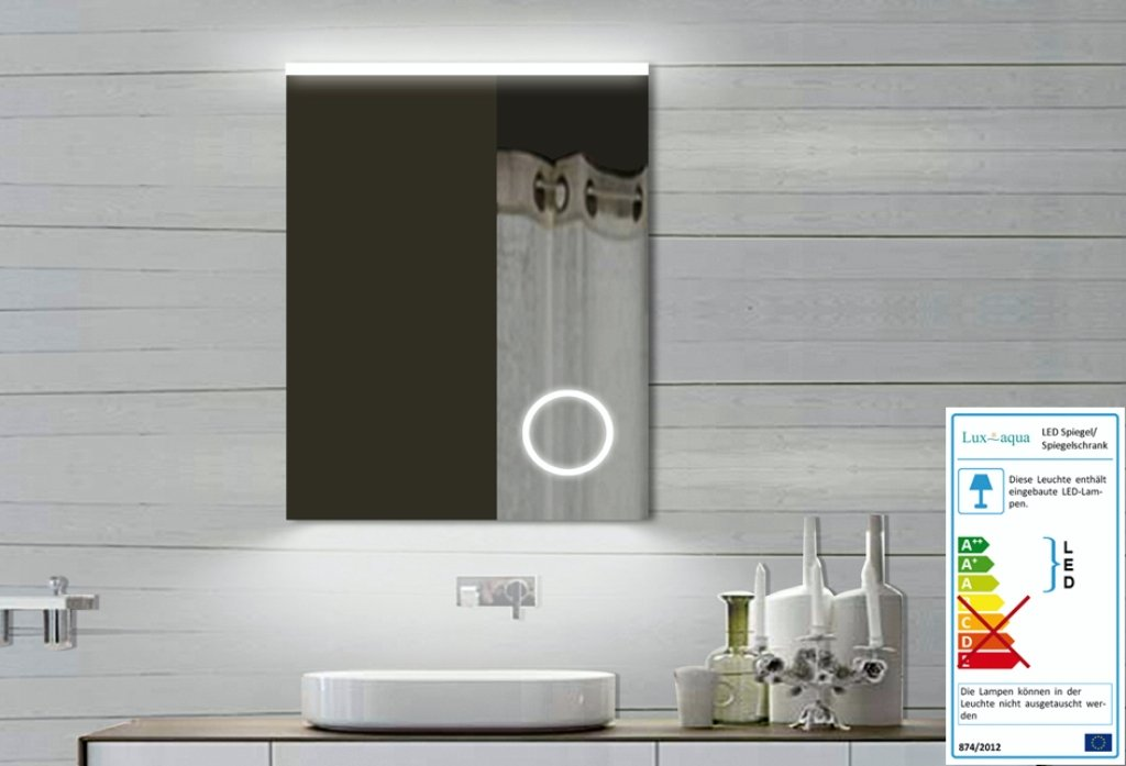 Moderne Lampen 60 : Top design light mirror bathroom mirror with led makeup mirror