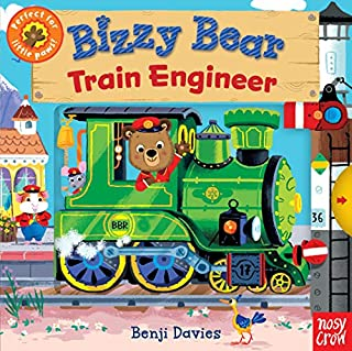 Book Cover: Bizzy Bear: Train Engineer