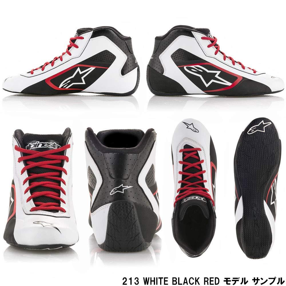 Size 7 Black//White Alpinestars 2711518-12B-7 Tech 1-K Start Shoes