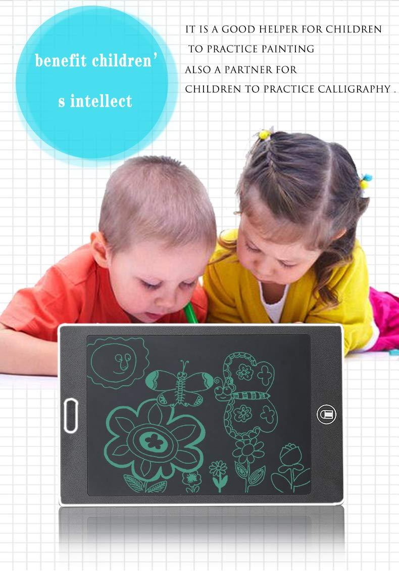 NXDRS Tablet de Escritura LCD 8.5 Inch Tableta de Escritura de Tablero de Escritura electr/ónica para Uso en casa Oficina Gr/áfica Dibujo Tablero W Escuela