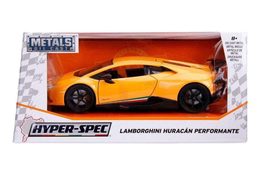 Amazon Com Jada 1 24 W B Metals Hyper Spec Lamborghini