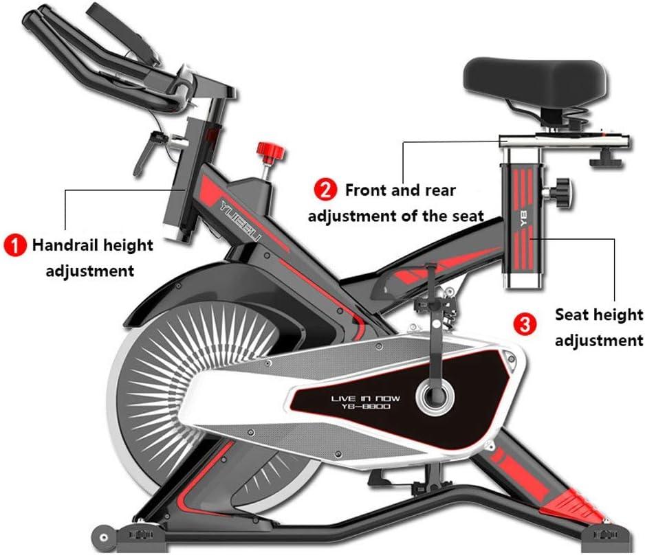 TSDS Bicicleta for Ejercicios, Cinta de Correr Moderna con Amortiguador de Interiores, Escalada, Paso a Paso, Rojo/Gris, Bicicleta Deportiva Ajustable: Amazon.es: Deportes y aire libre