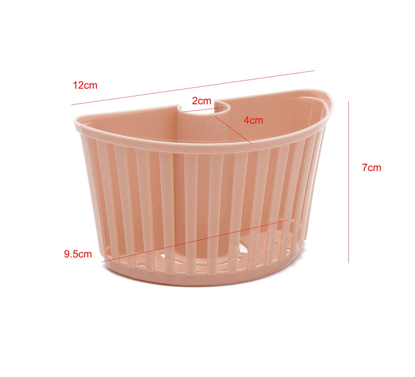 Pipes To The Card Slot Sponge Admit Stand Debris From Drain Water Rack Kitchen Supplies Water Tanks Plastic Hanging Basket by huici (Image #2)