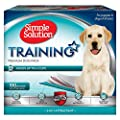 Simple Solution 6-Layer Dog Training Pads, Absorbs Up to 6 Cups of Liquid
