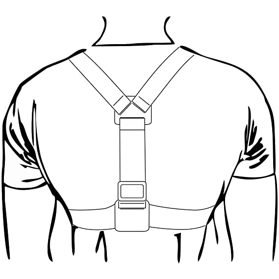 Amazon Com Wealpe Chest Mount Harness Chesty Strap Compatible With