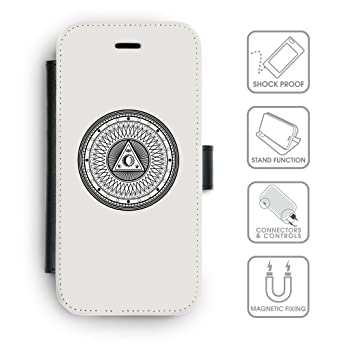 Amazon.com: Flip PU Leather Wallet Case with Credit Card ...