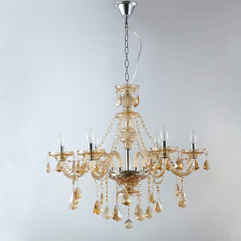 gaixample.org HWLG Modern 6 Light Chandeliers Ceiling Lights ...