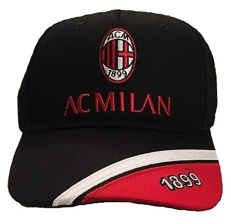 Cappello Milan Cappellino Ufficiale Berretto con Visiera SPICROS01 ... 434cecc34b3e