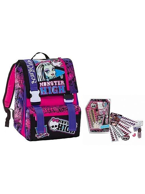 71a7f162e6 Seven- Zaino sdoppiabile Monster High, Colore Viola, 292001404-899 ...
