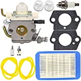 C1M K77 Carburetor with Primer Bulb Gasket for ECHO PB403H PB403T PB413H PB413T PB460LN PB461LN Leaf Blower (C1M K77)