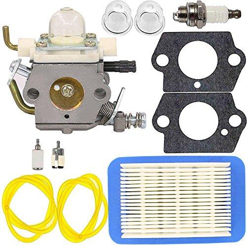 C1M K77 Carburetor with Primer Bulb Gasket for ECHO PB403H PB403T PB413H PB413T PB460LN PB461LN Leaf Blower (C1M K77) by Jwn