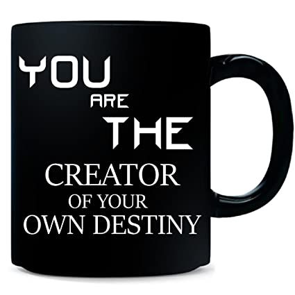 7930c553d3314 Amazon.com | You Are The Creator Of Your Own Destiny Typography ...