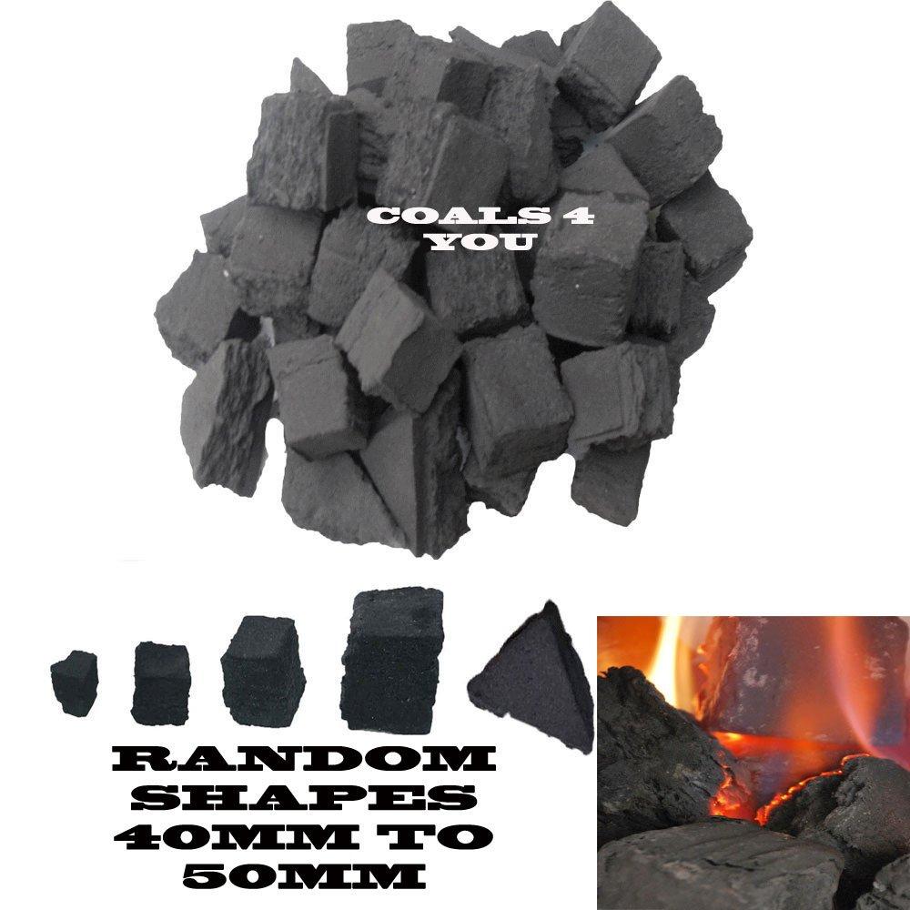 20 Gas Fire Replacement Coals Ceramic Medium Size Coal
