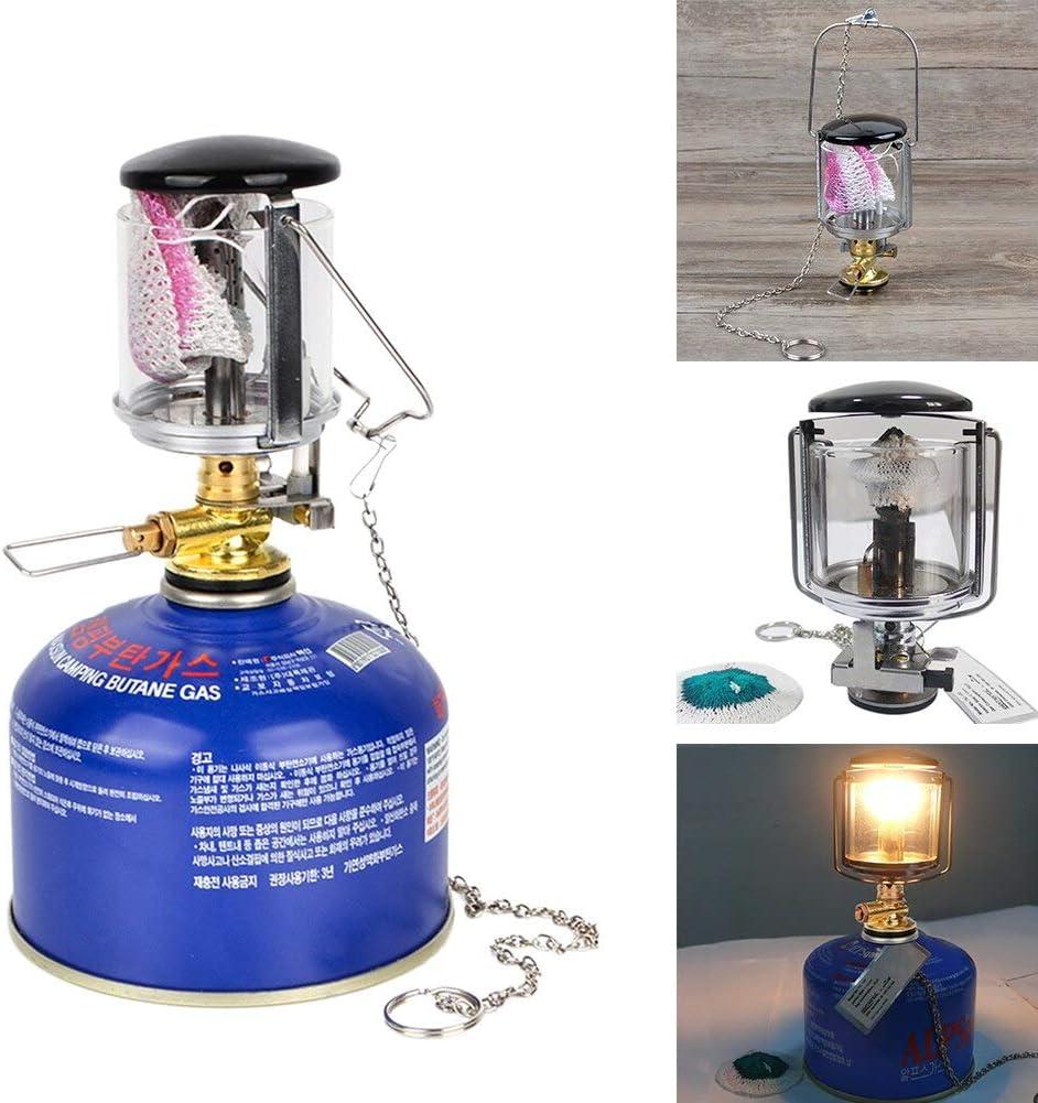 Linterna de camping duradera con luz de gas para camping ...