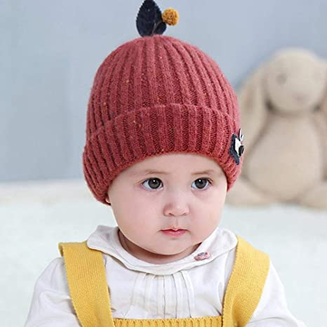 1aa722c0 Image Unavailable. Image not available for. Color: Myzixuan Autumn and Winter  New Baby Knit hat ...
