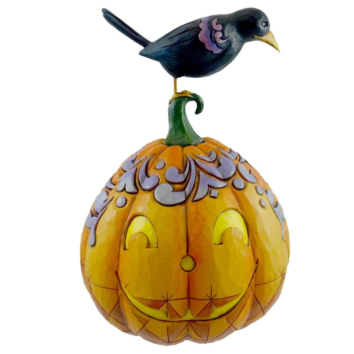 Jim Shore Two Faced Jack 2-Sided Pumpkin 4021134