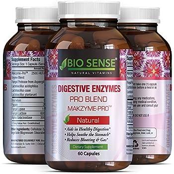 Amazon.com: Potente y Pure la enzima digestiva Cápsulas con ...