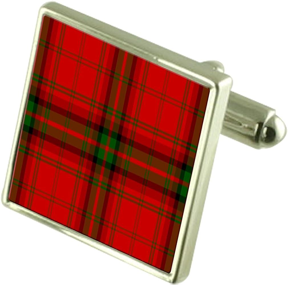 Select Gifts Cufflinks Tartan Clan MacDougall