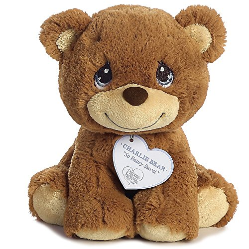 Aurora World Precious Moments So Beary Sweet Charlie Bear Plush, 8.5
