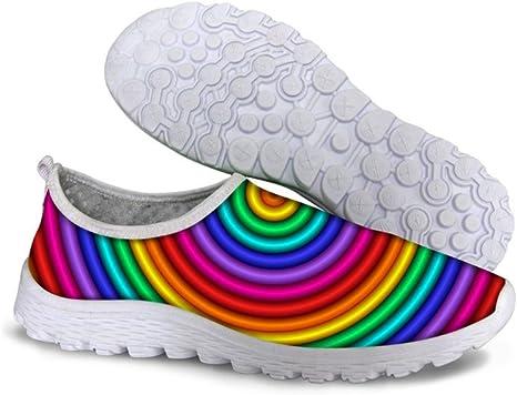 Piup Fashion - Zapatillas de Running para Mujer, diseño de Plumas ...