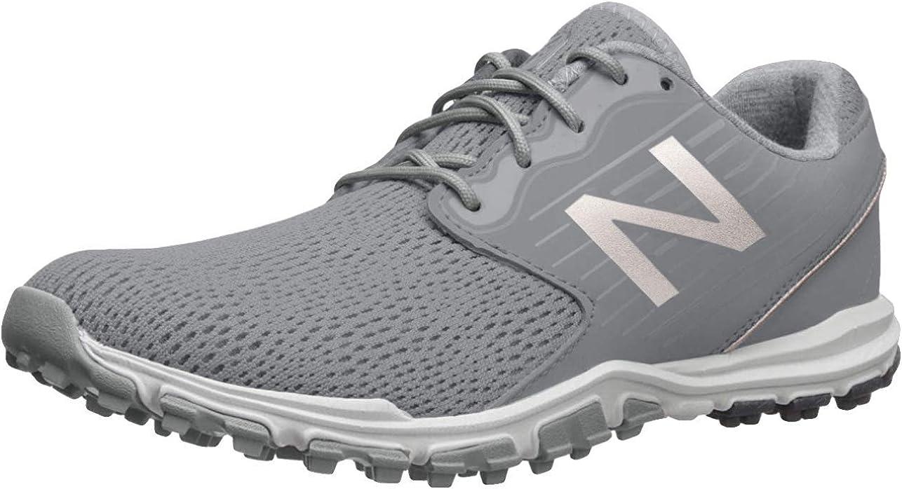 New Balance Women's Minimus Sl Breathable Spikeless Comfort Golf Shoe
