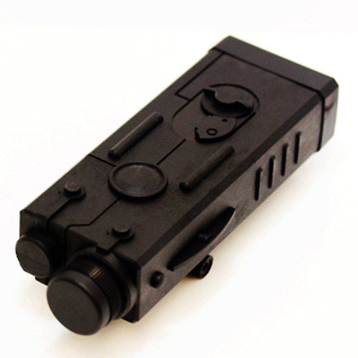 Airsoft Jeu Gear CYMA MP5PEQ style Coque Batterie Boîte Noir