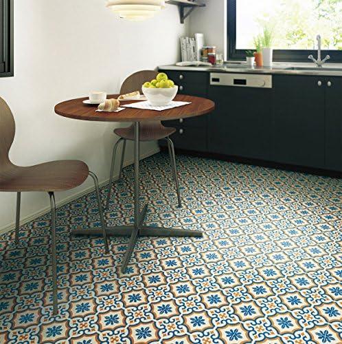 シンコール 住宅用クッションフロア Ponleum モロッコタイル ( 巾1.8m 長さ1m x ご注文数) 型番: E6002 03M