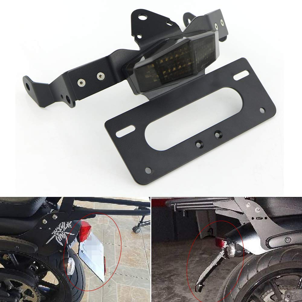 Xitomer/Tail/Tidy,/Fender/Eliminator/for/Kawasaki/Vulcan/s/2015/2016/2017/2018/2019/2020///Vulcan/Caf/é/2018/2019/2020,/with/LED/Tail/li
