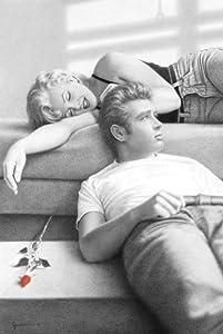 Pyramid America Marilyn Monroe James Dean Flute Song by Paul Gassinheimer Cool Wall Decor Art Print Poster 36x24