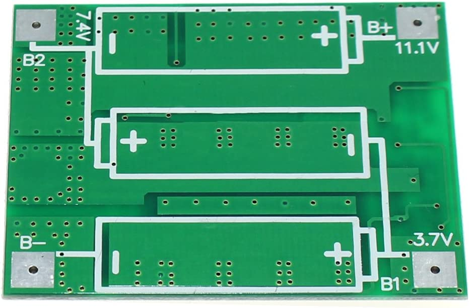 ZkeeShop 3S 12V 25A Balance Lithium Battery 18650 Charger Protection Board Balance Module