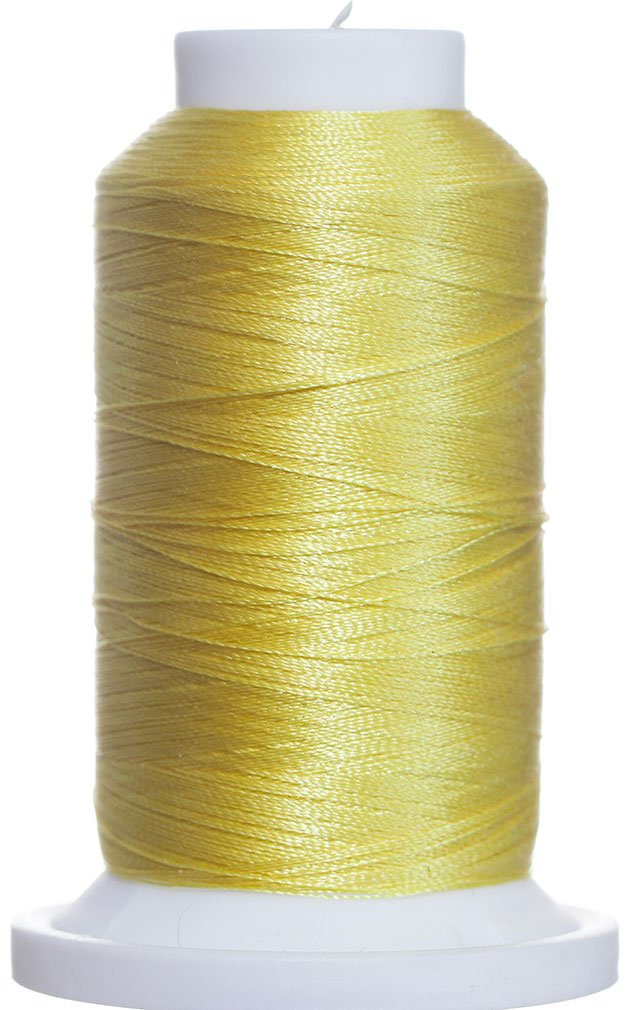 1M-2403 BFC Poly Machine Embroidery Thread, 40 Wt, 1000m, Bright Popcorn