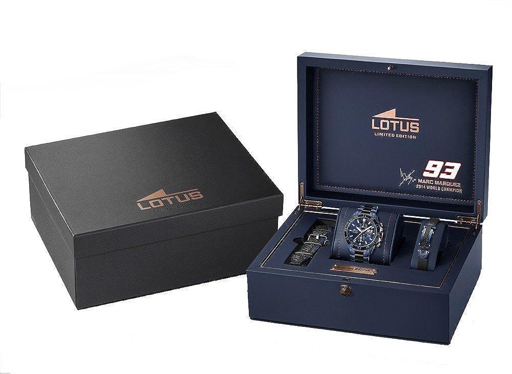 Lotus Marc Márquez L18230/1 - Reloj edición Limitada (2858): Amazon.es: Relojes