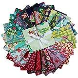 FreeSpirit Fabrics Farewell Amy 25 Piece Fat Quarter Bundle Fabric, Multicolor
