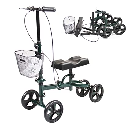 Patinete plegable para la rodilla para adultos, carrito de ...