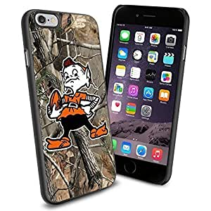 American Football NFL CLEVELAND BROWNS , Cool iPhone 6 Smartphone Case Cover Collector iphone TPU Rubber Case Black