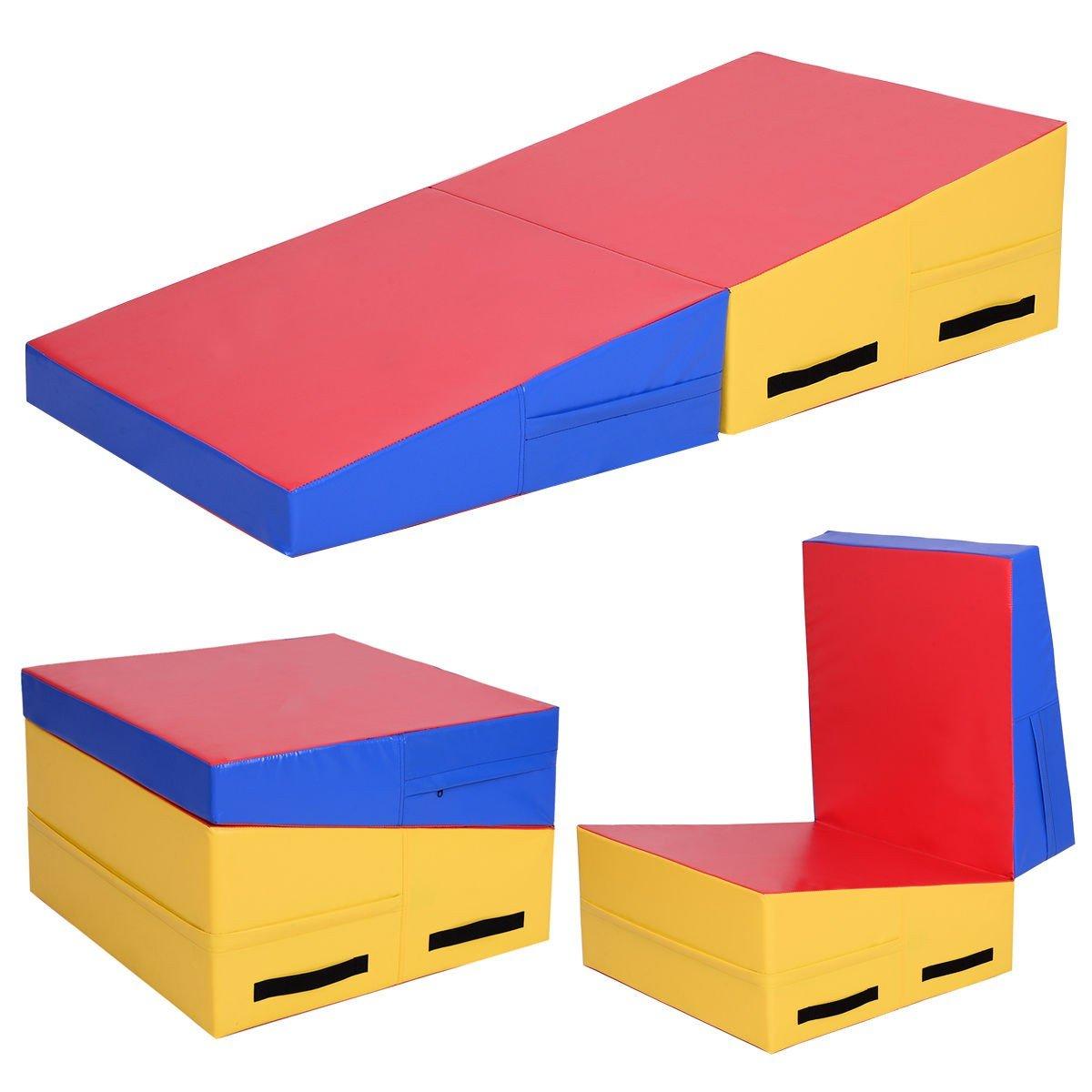 Folding Incline体操練習マット – by Choice製品   B074J8RDHB