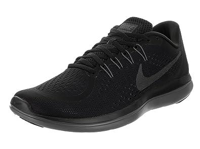 69bd796e9840f Nike Men s s Flex 2017 Rn Competition Running Shoes Black MTLC  Hematite Anthracite Dark