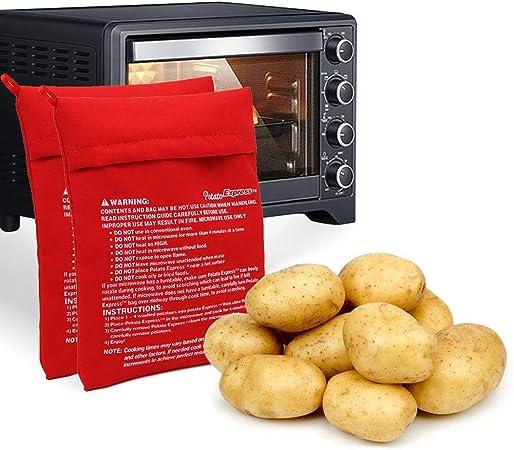 Ailyoo Bolsa Reutilizable para Papas de Cocina Patatas 2 Piezas ...