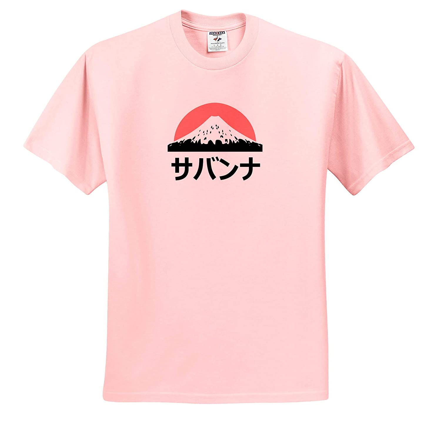 Name in Japanese ts/_320620 Savannah in Japanese Letters 3dRose InspirationzStore Adult T-Shirt XL