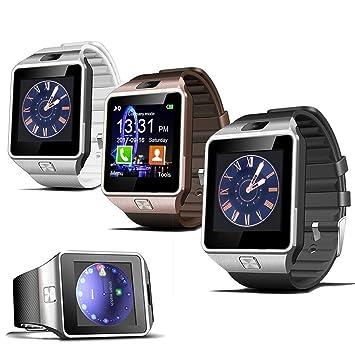Padgene DZ09 Smartwatch Bluetooth avec Caméra Montre Connectée Téléphone Supporte Carte SIM Tracker dActivité