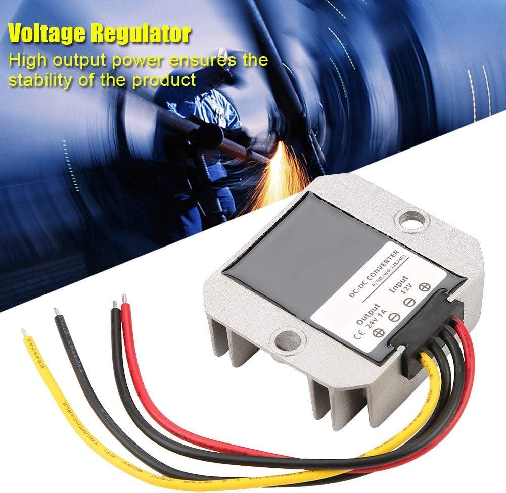 Boost Converter 12V a 24V DC Regulador de voltaje Fuente de alimentaci/ón 1A 24W Funci/ón de protecci/ón para telecomunicaciones Miner/ía de carb/ón