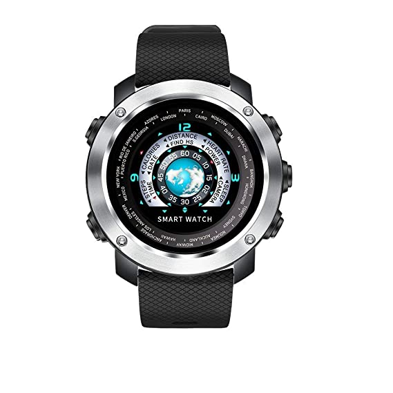 Reloj Deportivo Digital para Hombres Relojes Inteligentes e Impermeables con podómetro y cronómetro podómetro