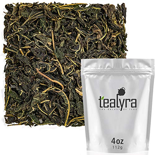 Tealyra - Rare White Mulberry Leaf Tea - From Thailand - Organically Grown - Healthy Herbal Loose Leaf - Natural Blood Sugar Balance - Supports Overall Health - Caffeine-Free - 112g (4-ounce)