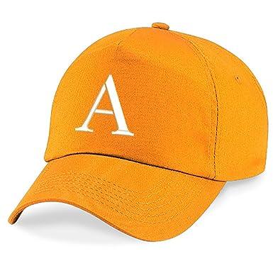 4sold New Casquette de Baseball Cap BRODÉ Letter A z Garçon Fille Enfants  Chapeau Bonnet Unisexe Orange (A)  Amazon.fr  Vêtements et accessoires afaee5957ee