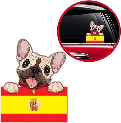Biomar Labs® Pegatina Adhesivo Perro Cachorro French Bulldog ...