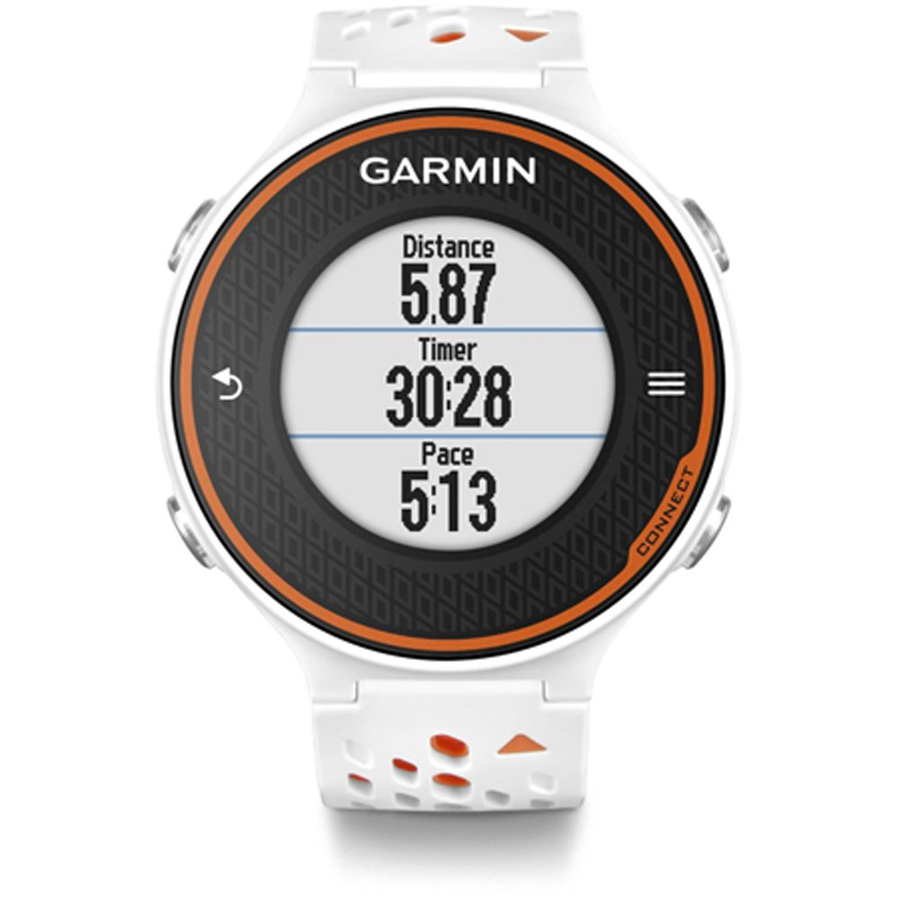 Garmin Forerunner 620 - White/Orange (Certified Refurbished) by Garmin