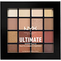 Paleta de sombras,Ultimate Shadow Palette, Nyx Professional Makeup , Tono Warm Neutrals 13g